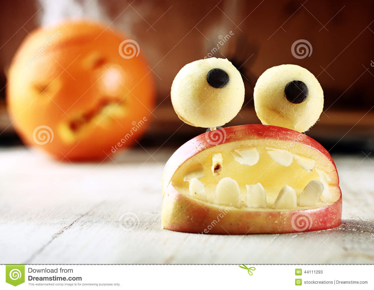 Halloween Treats, Little Monster Dessert Stock Photo - Image: 44486320