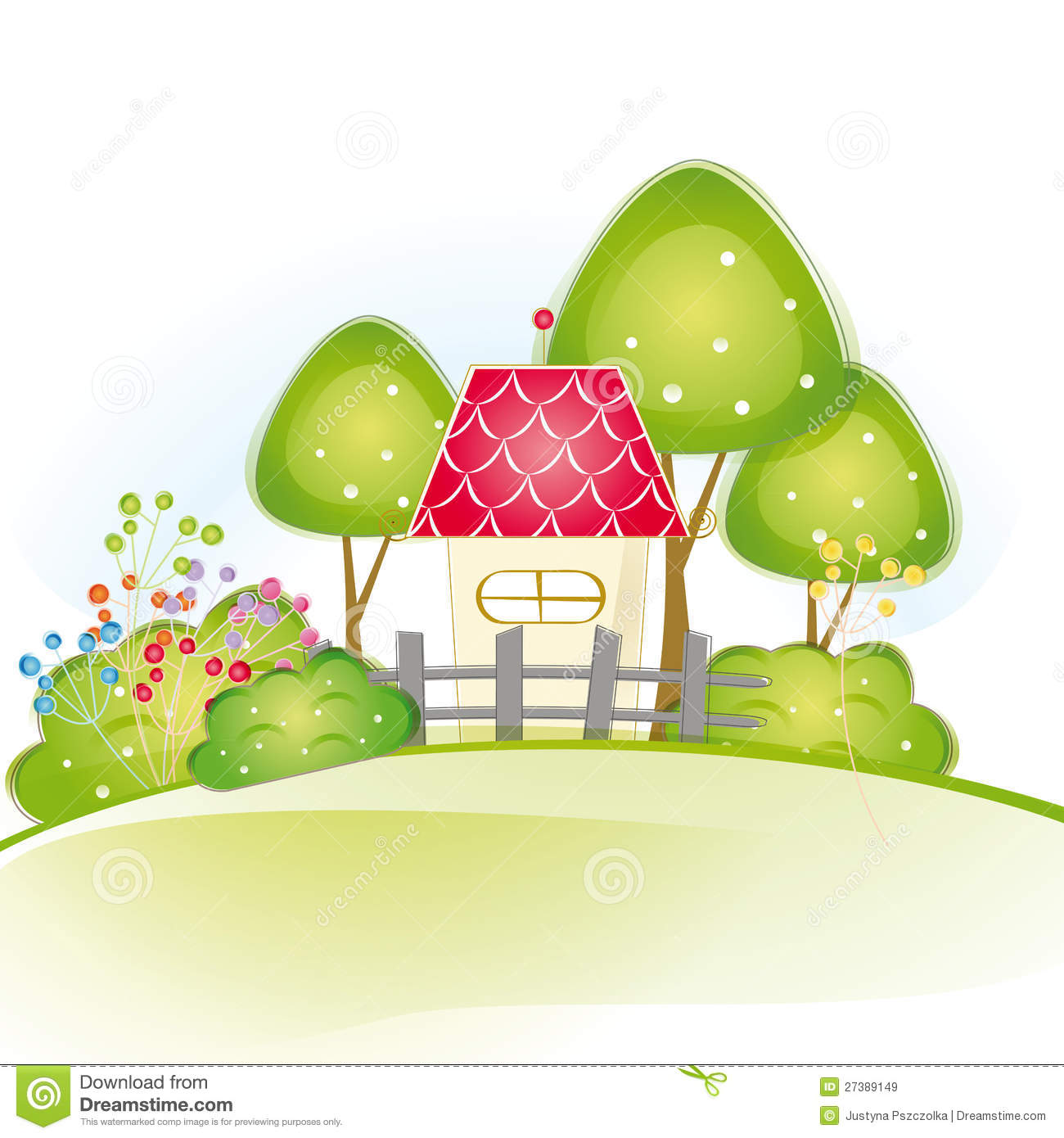 Cute house royalty free stock images image 27389149 for Cute house images