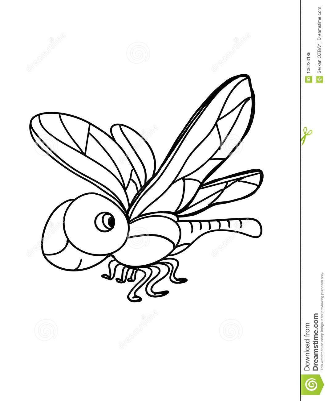 Cute insect drawing - photo#53
