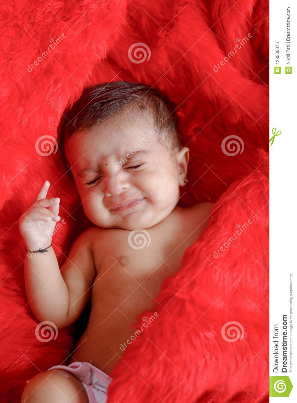 Cute Indian Baby Girl Stock Photos - 1,408 Images-4721