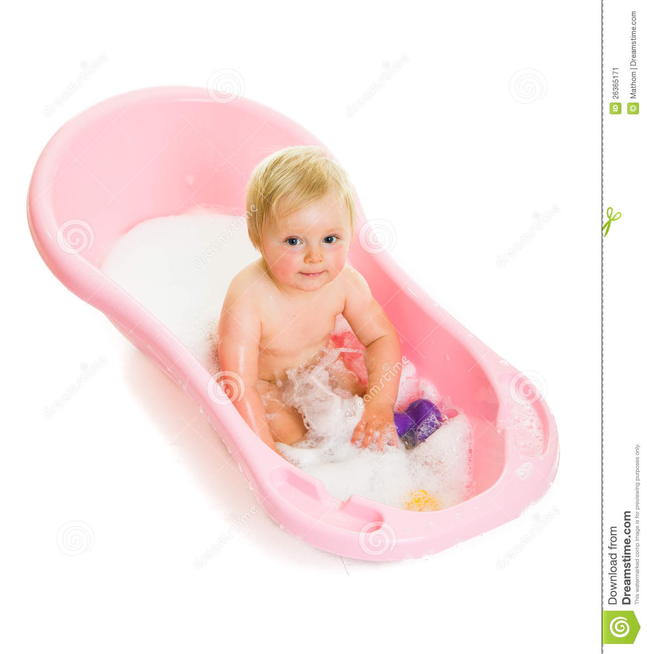 More Similar Stock Images Of Cute Infant Girl In Bath