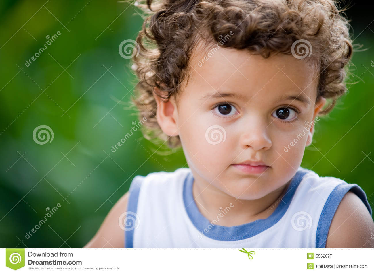 cute kid stock image. image of green, caucasian, child - 5562677