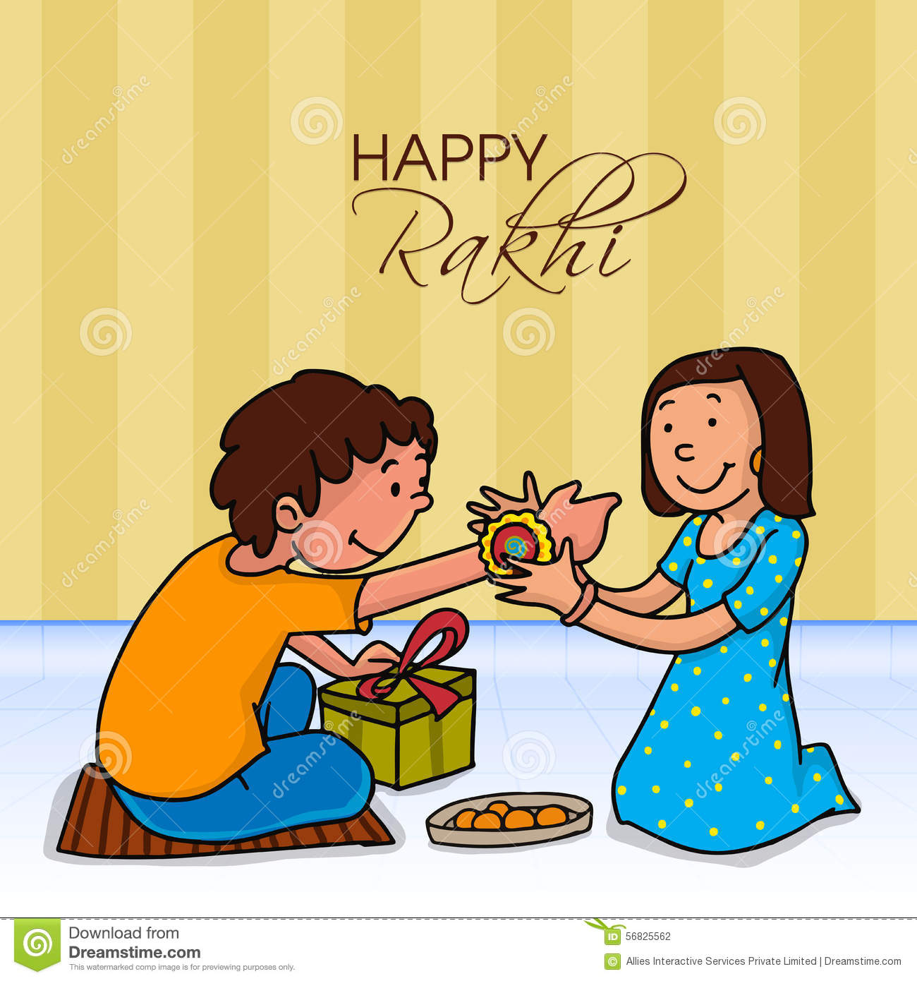 Rakhi Drawing For Kids