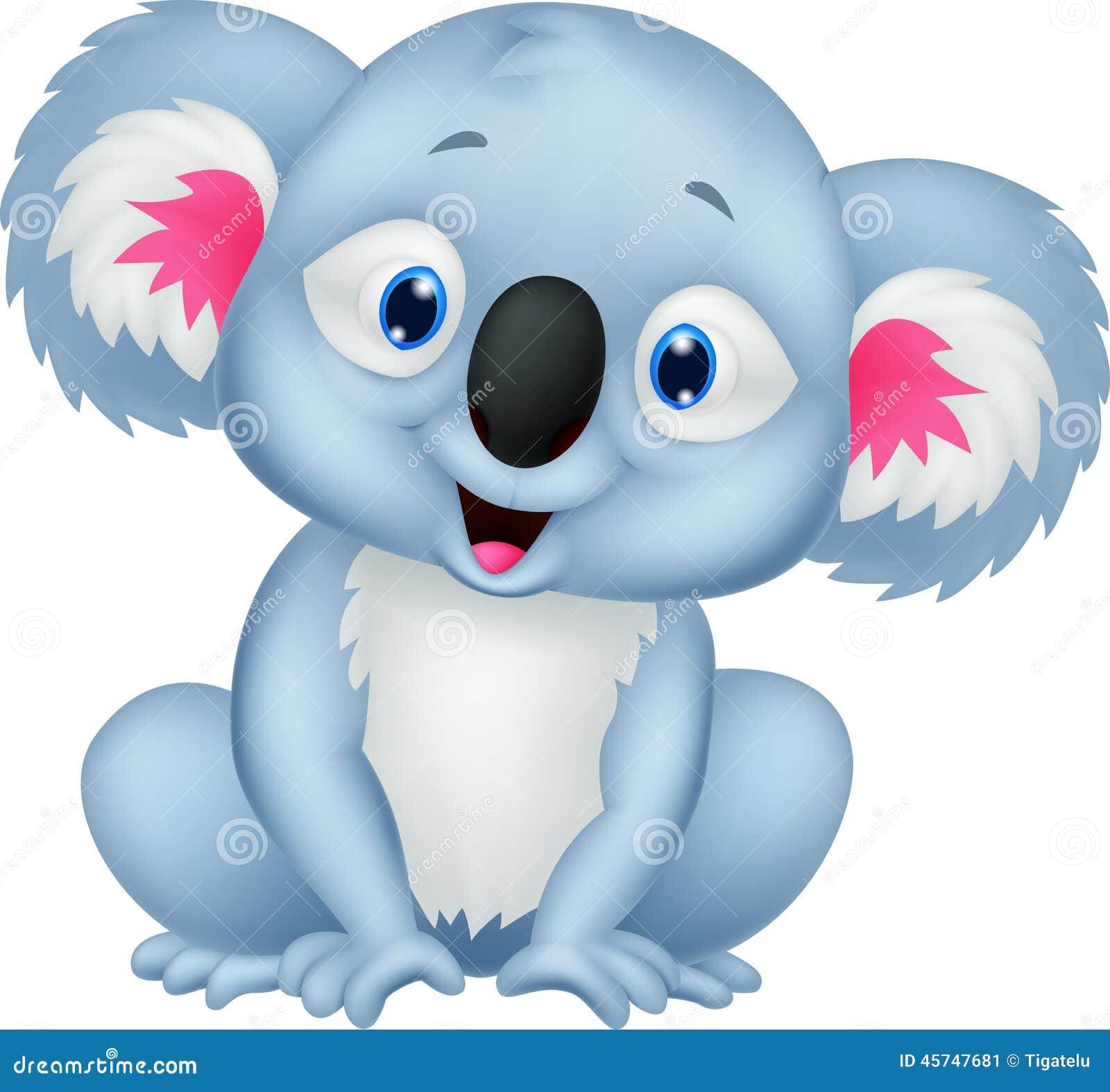 Cute Koala Cartoon Stock Vector - Image: 45747681
