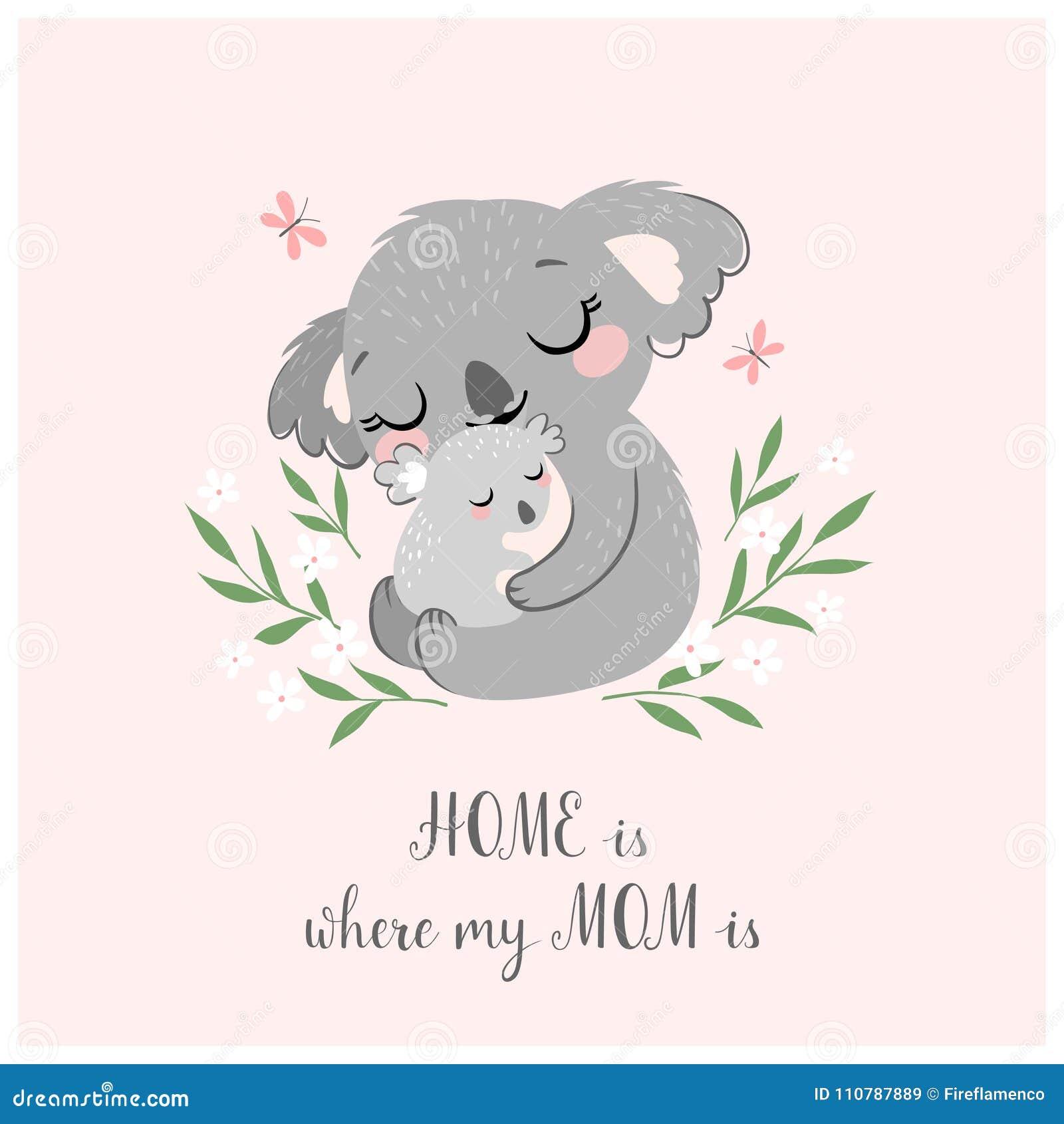 Cute koala mom and baby stock vector illustration of infant 110787889 download cute koala mom and baby stock vector illustration of infant 110787889 m4hsunfo