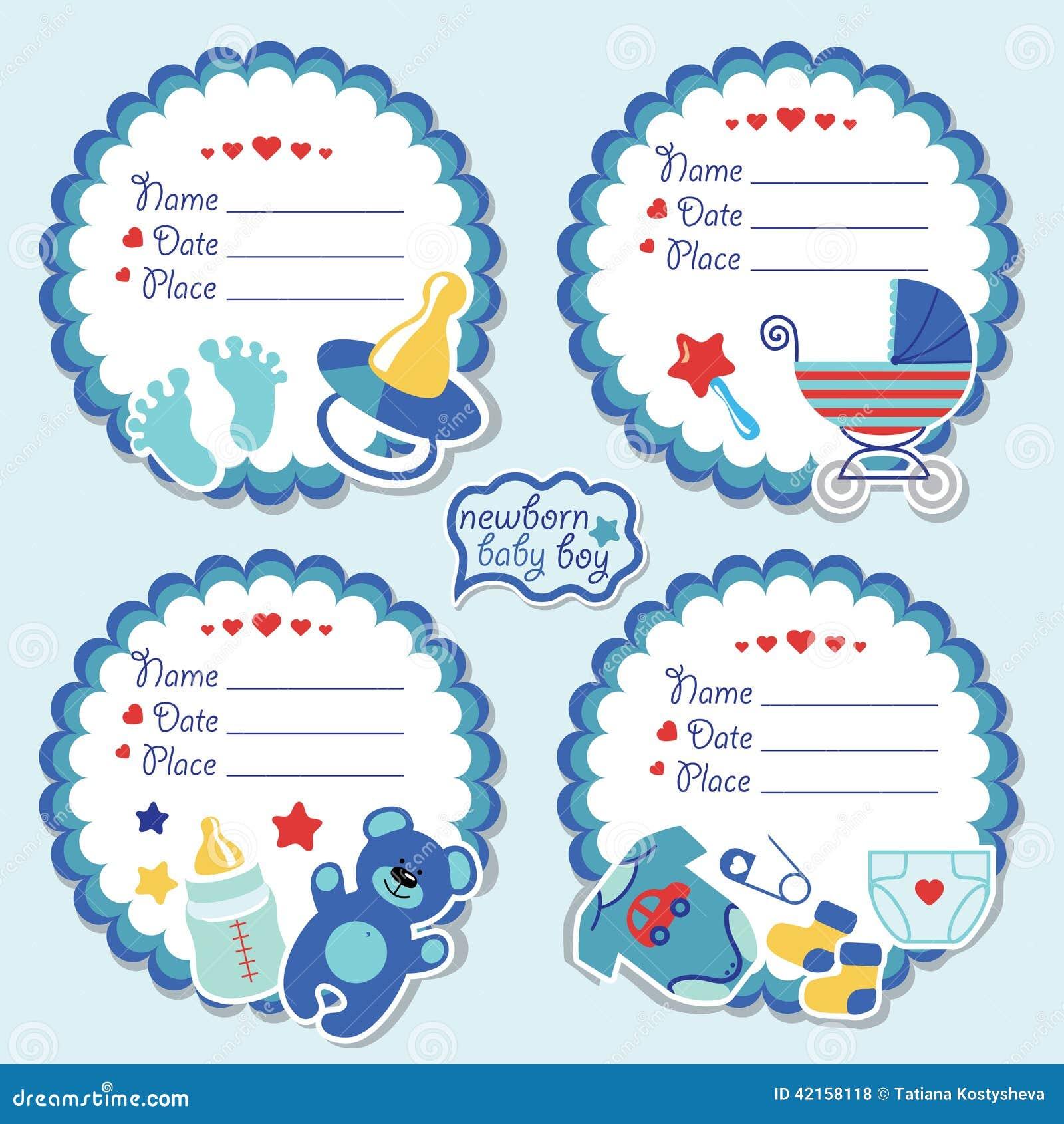 Baby Label Royalty Free Stock Photo - Image: 24432985