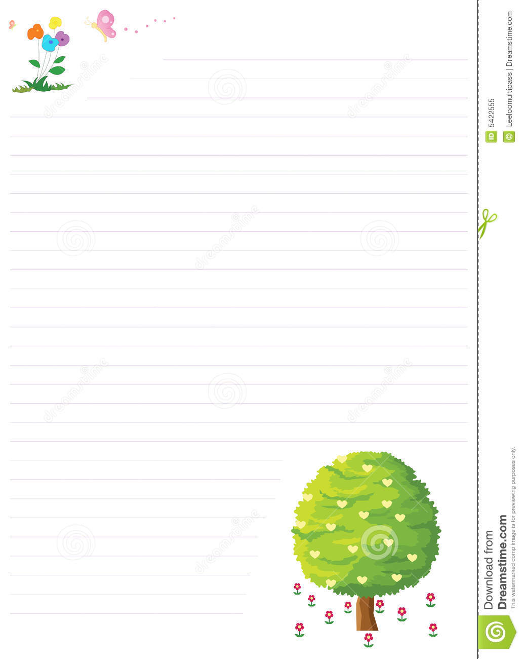 cute letter page - Letter Page