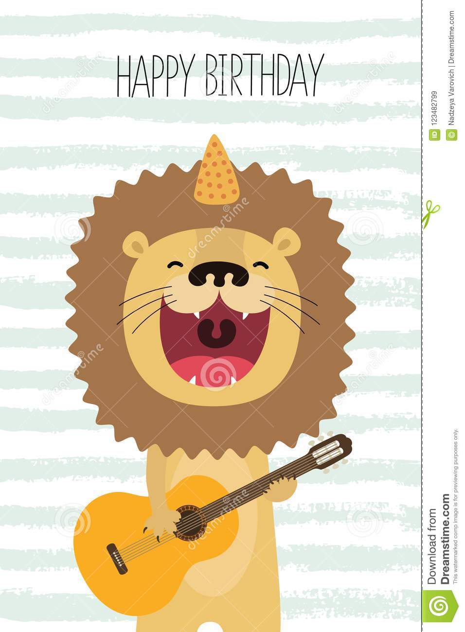 Happy Birthday Acoustic Guitar Www Topsimages Com