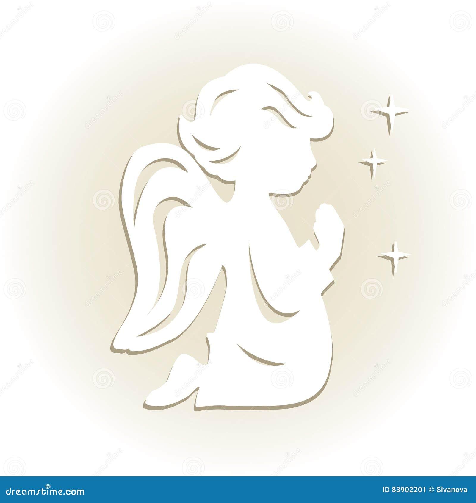 Cute Little Angel Stock Vector Illustration Of Dress 83902201