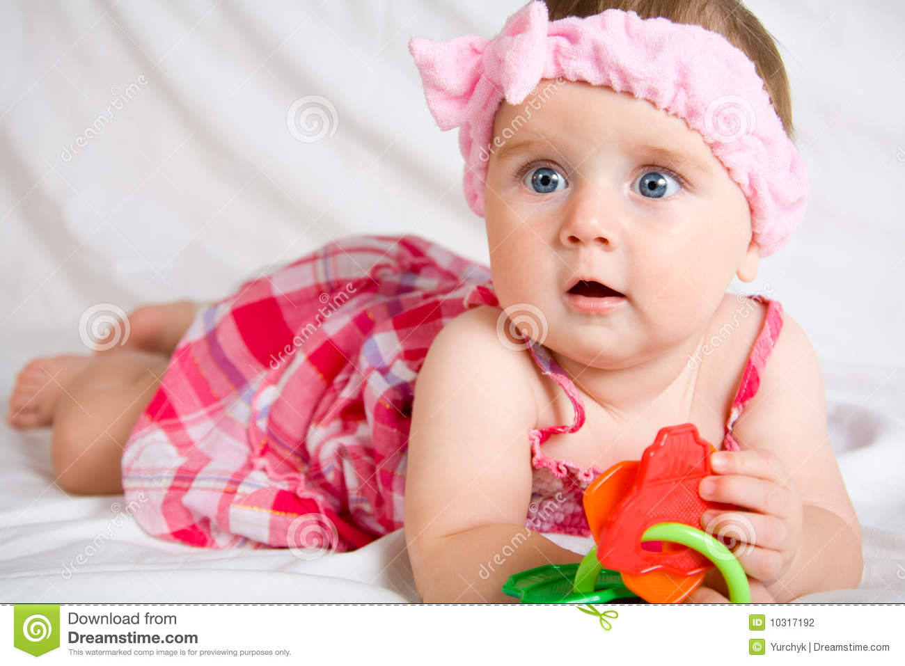 Cute Little Baby Girl Stock Photography Image 10317192
