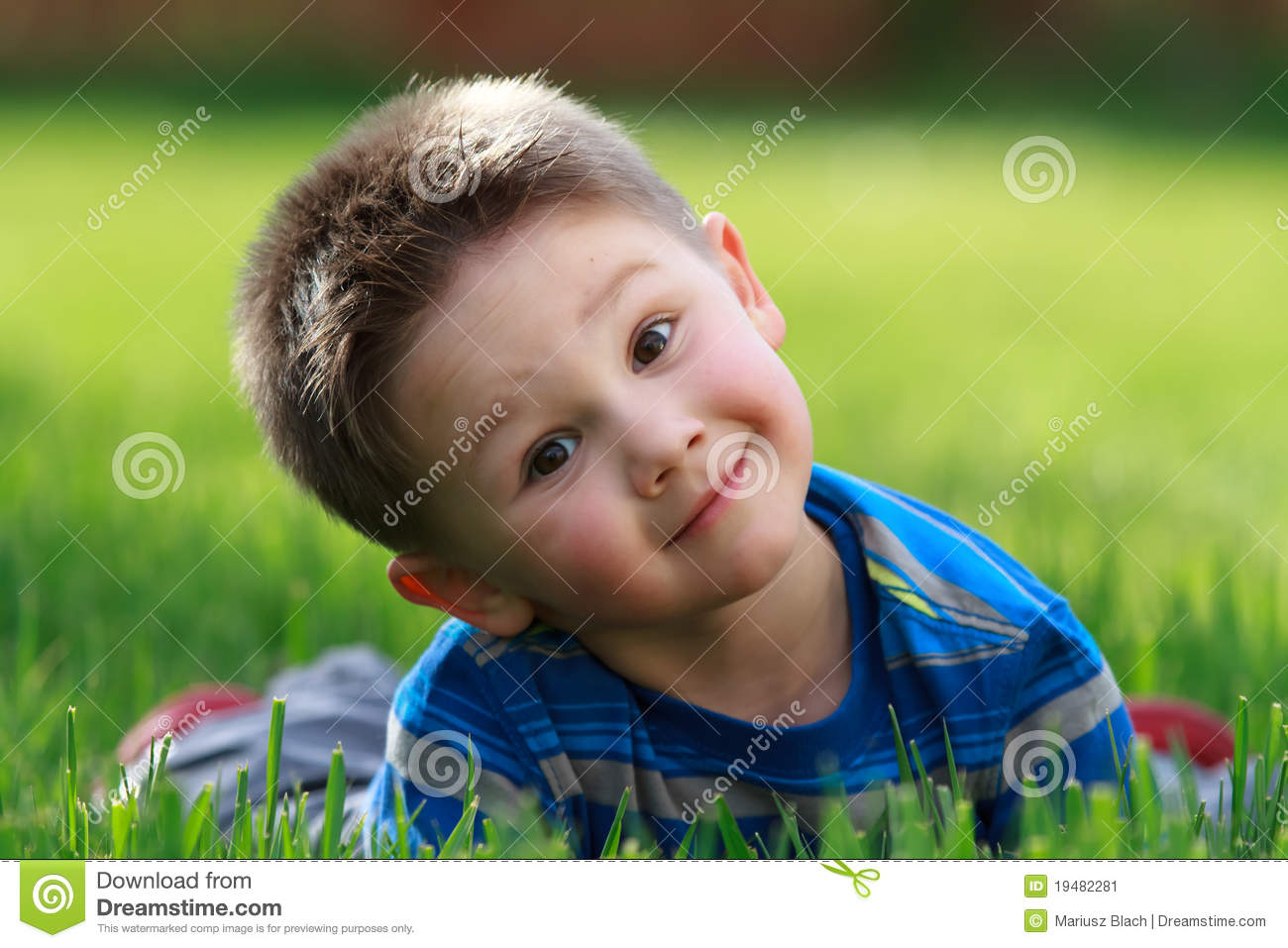 Cute Little Boy Stock Image Image 19482281