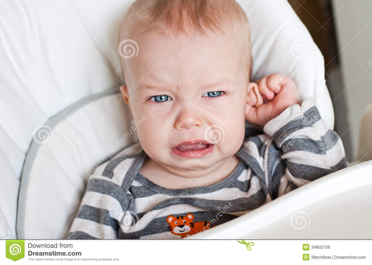 Child/ parent relationship in the Little Boy Crying?
