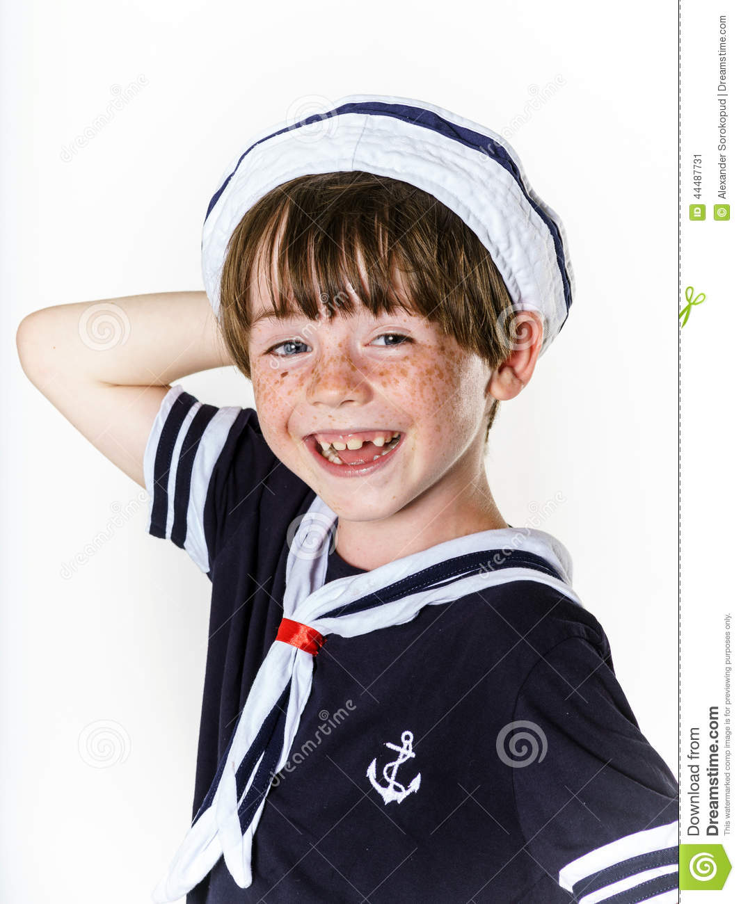 A classic, traditional sailor suit for a little boy to wear to a wedding, christening, Grandma's party perhaps? NB. This is custom made using our own original .