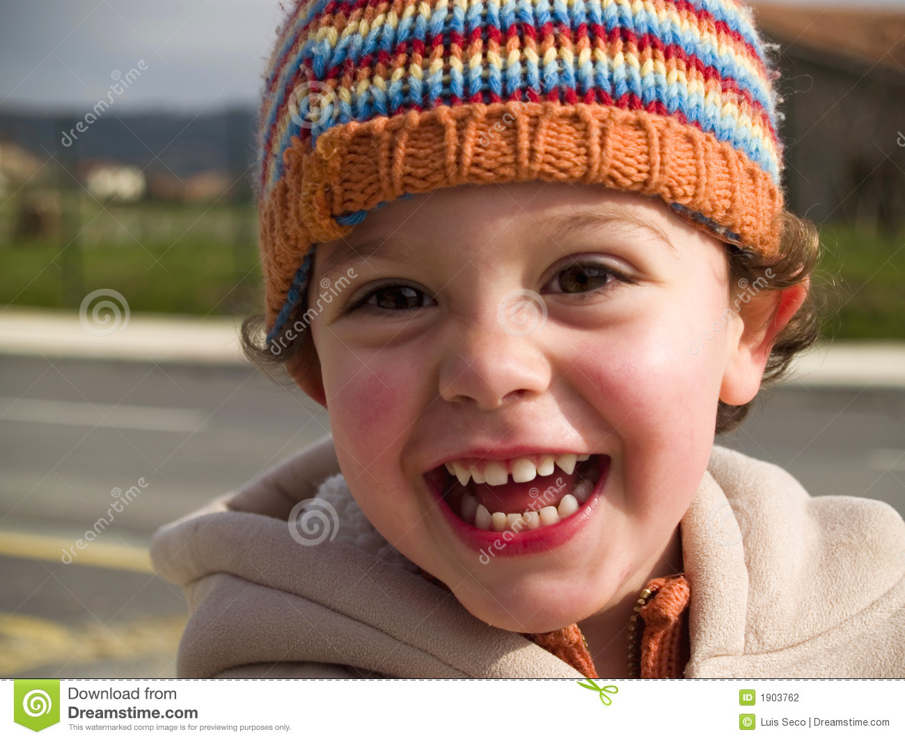 cute little boy smiling stock photo image of outdoor 1903762