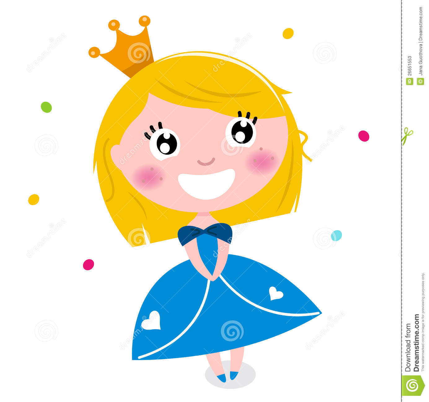 More similar stock images of ` Cute little cartoon princess `