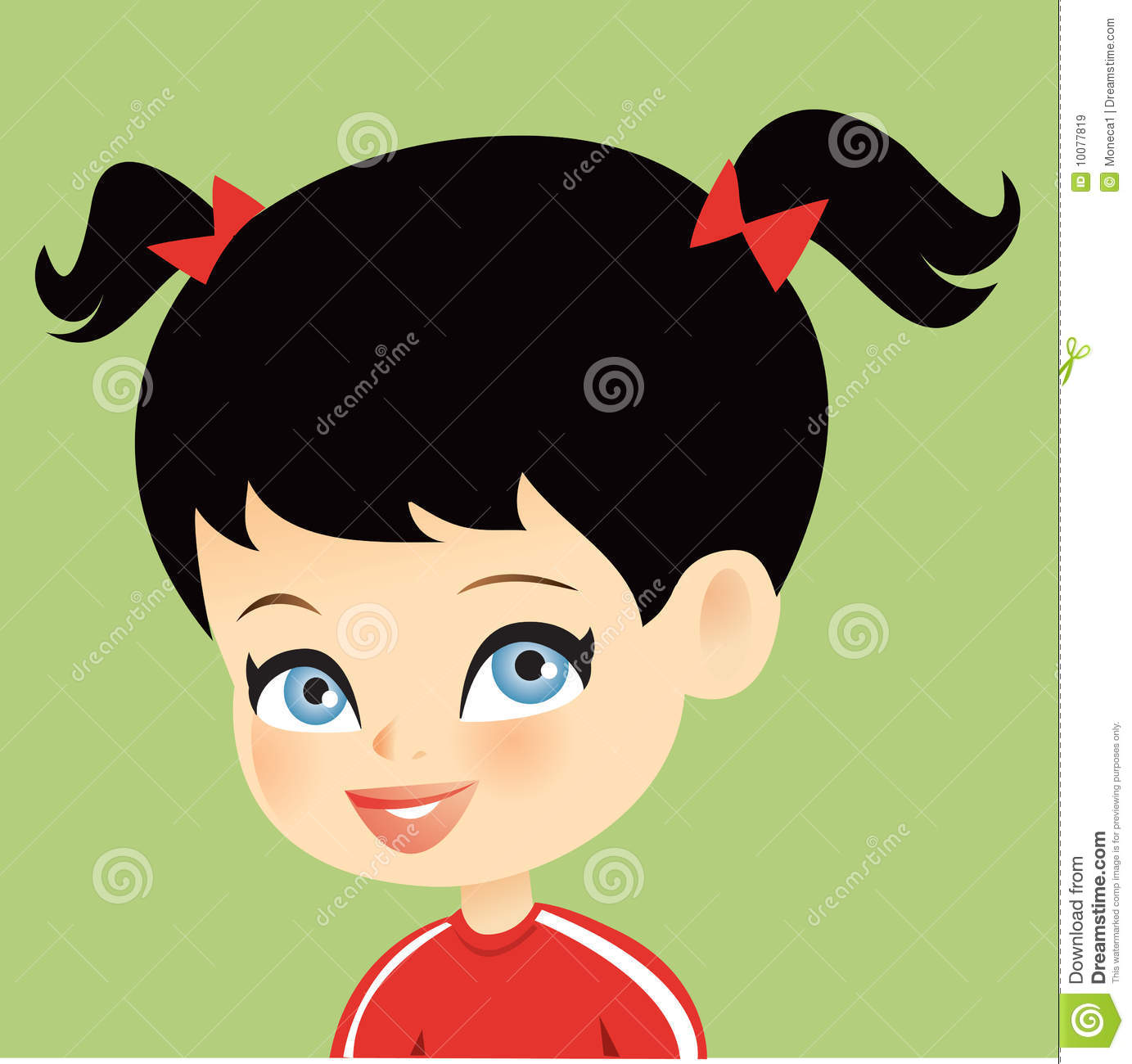 Cute Little Girl Royalty Free Stock Images Image 10077819