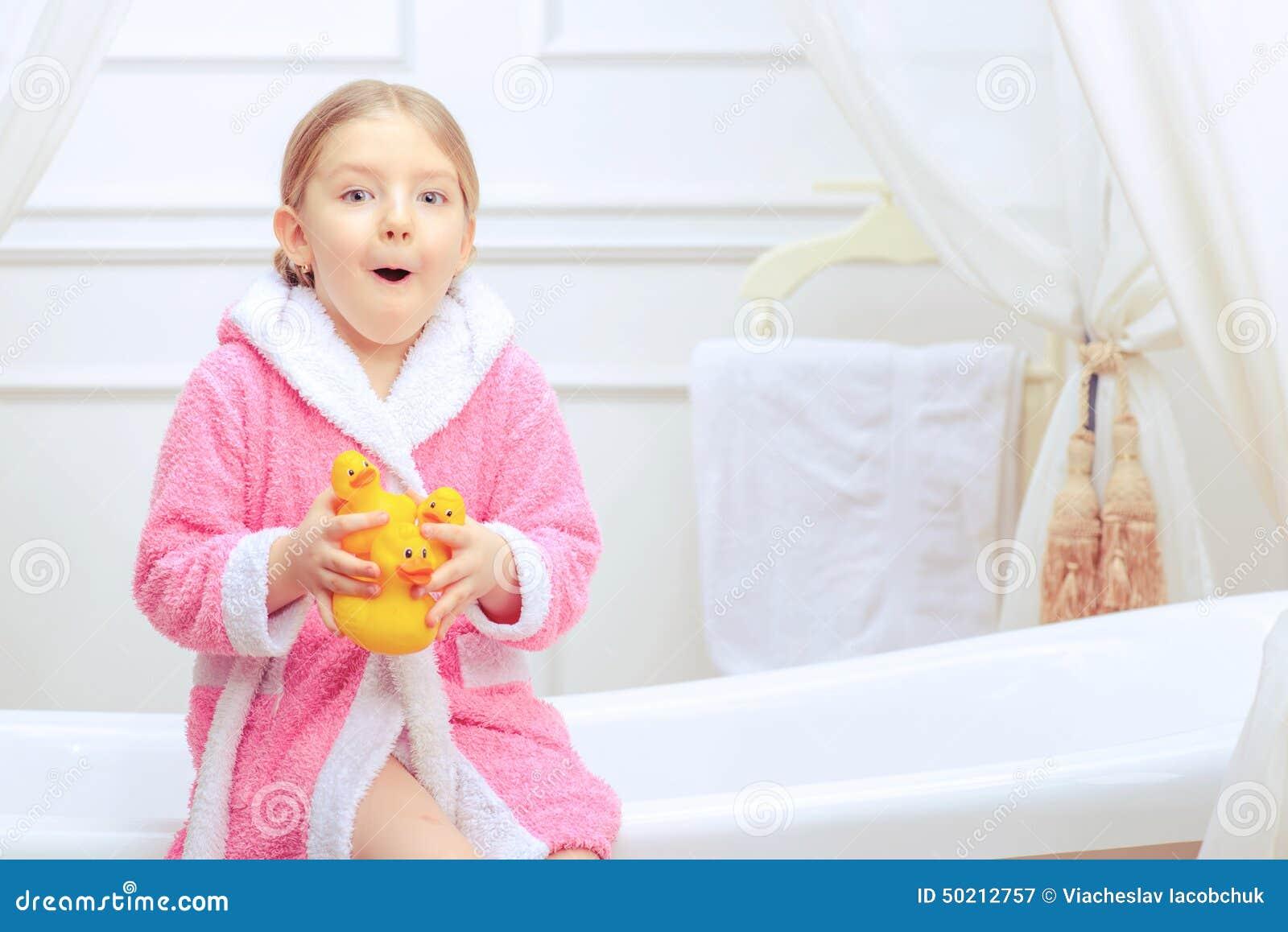Join. agree young girl bathtime fun