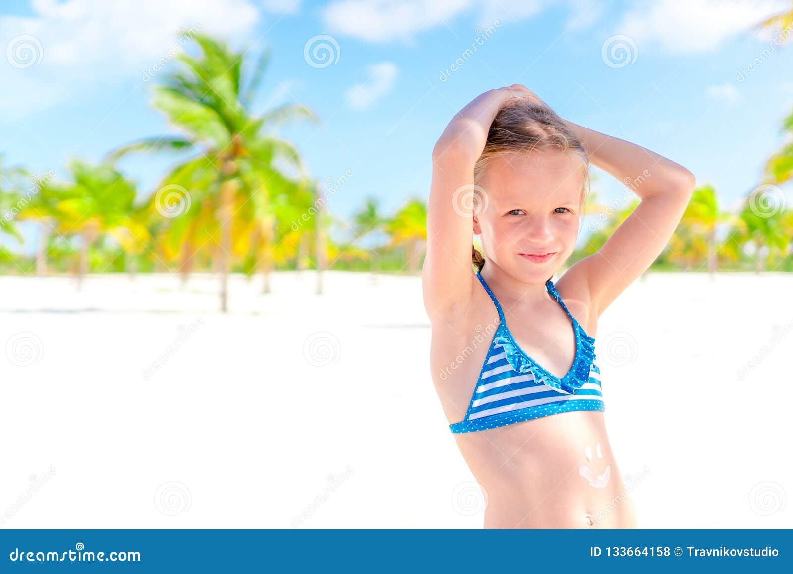 Summer fun in the sun Beach Little girls summer dress Summer fun