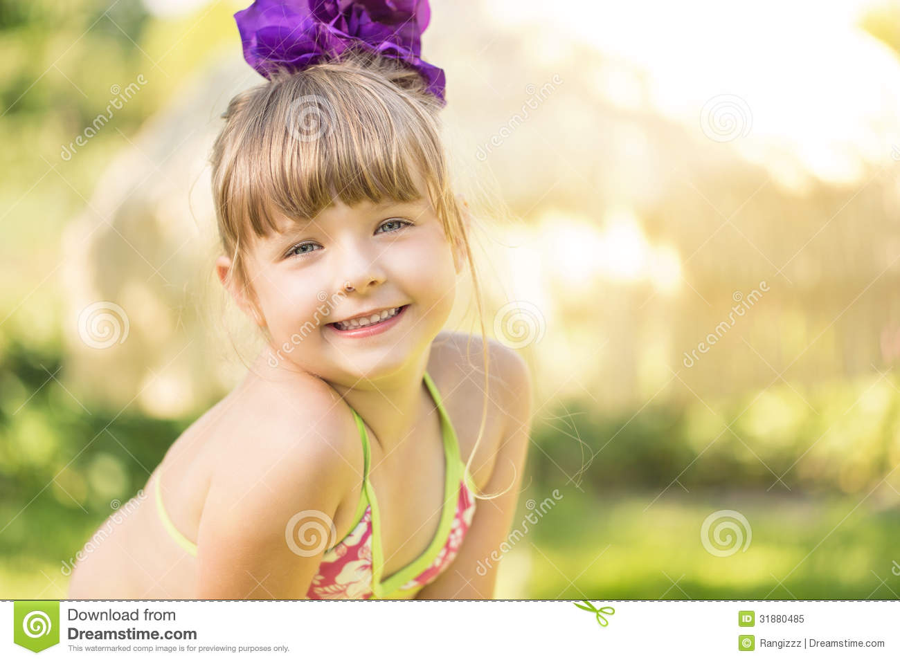 Cute Little Girl Royalty Free Stock Photo Image 31880485