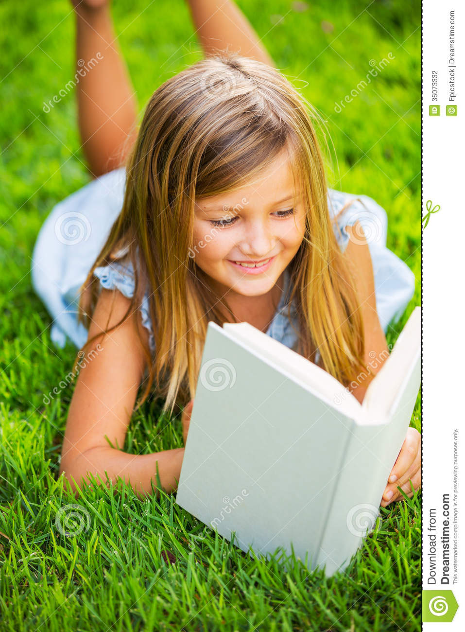 Reading a book outside - 1 7