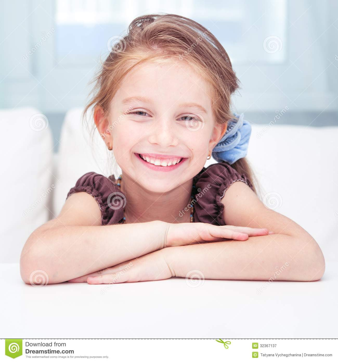 Cute Little Girl Royalty Free Stock Photography   Image  32367137