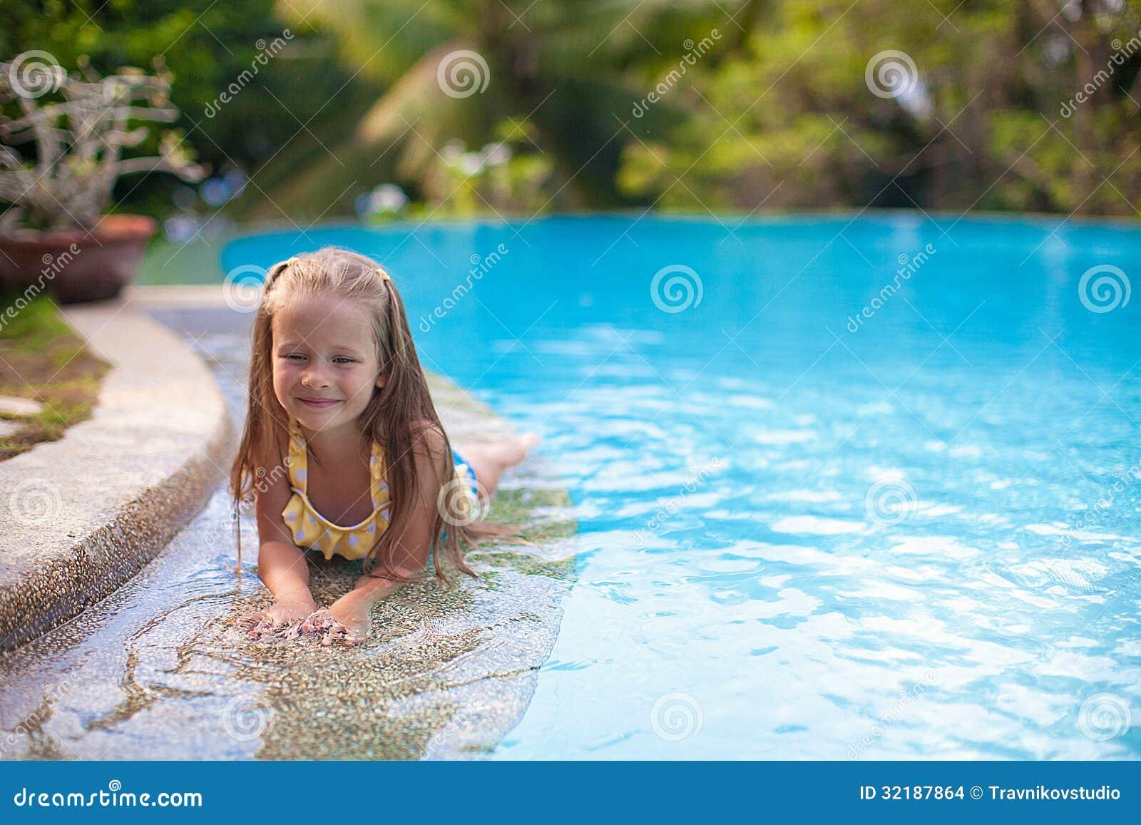 Discuss Sweet girls swim pool what