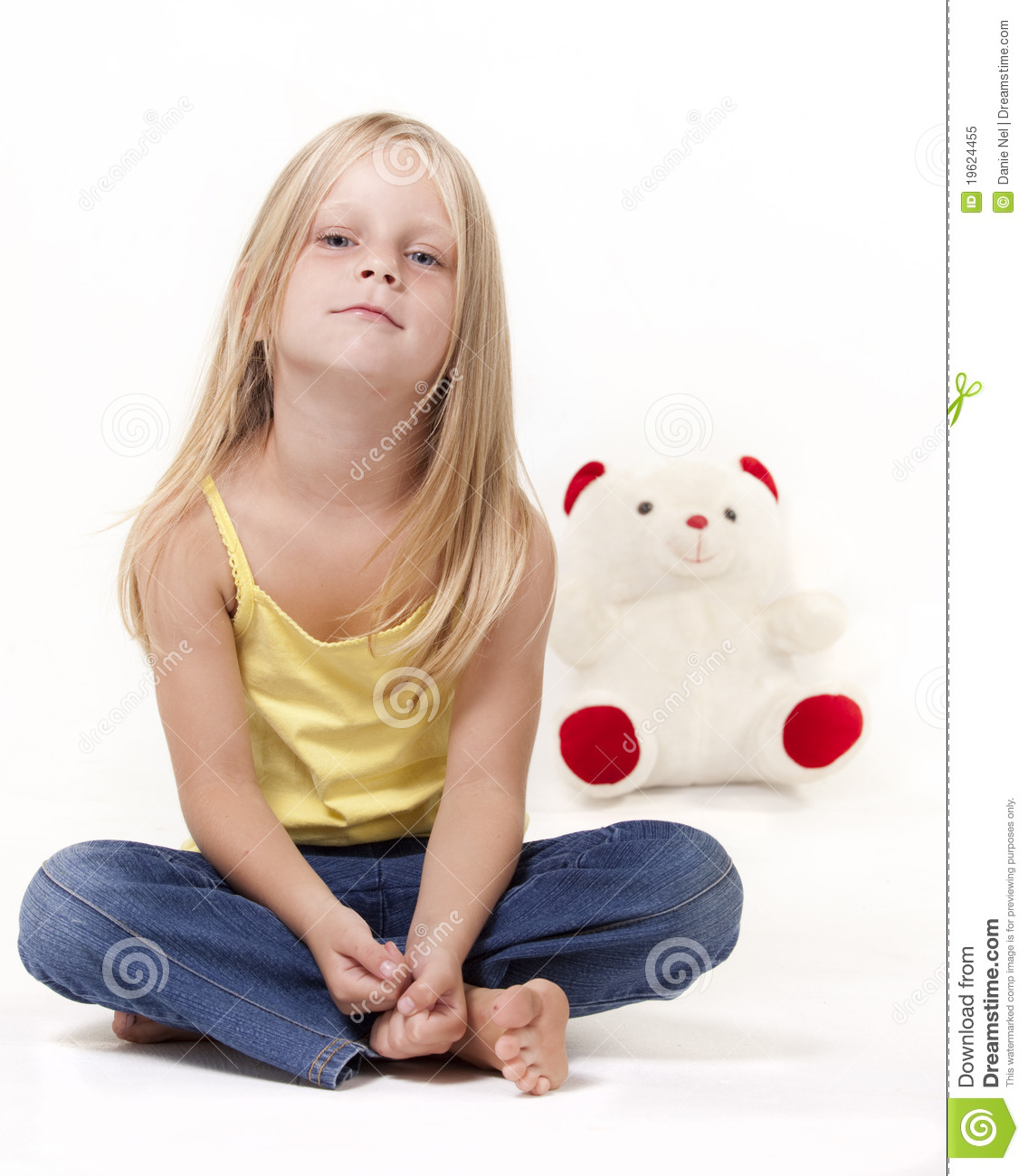 Cute little girl with teddy bear stock image image 19624455 Cute teenage girls pics