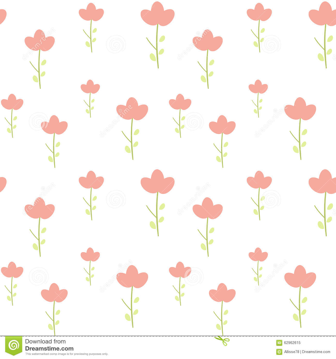 Simple flower pattern background - photo#12