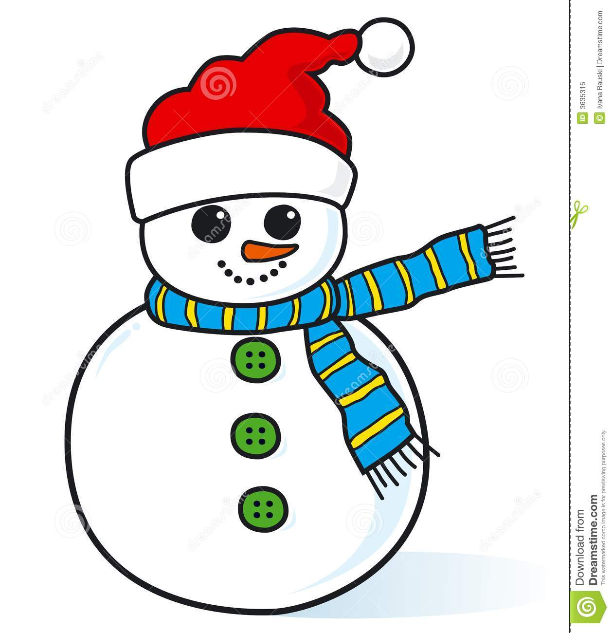 cute little snowman stock vector illustration of santa 3635316 rh dreamstime com  cute snowman clip art for holidays