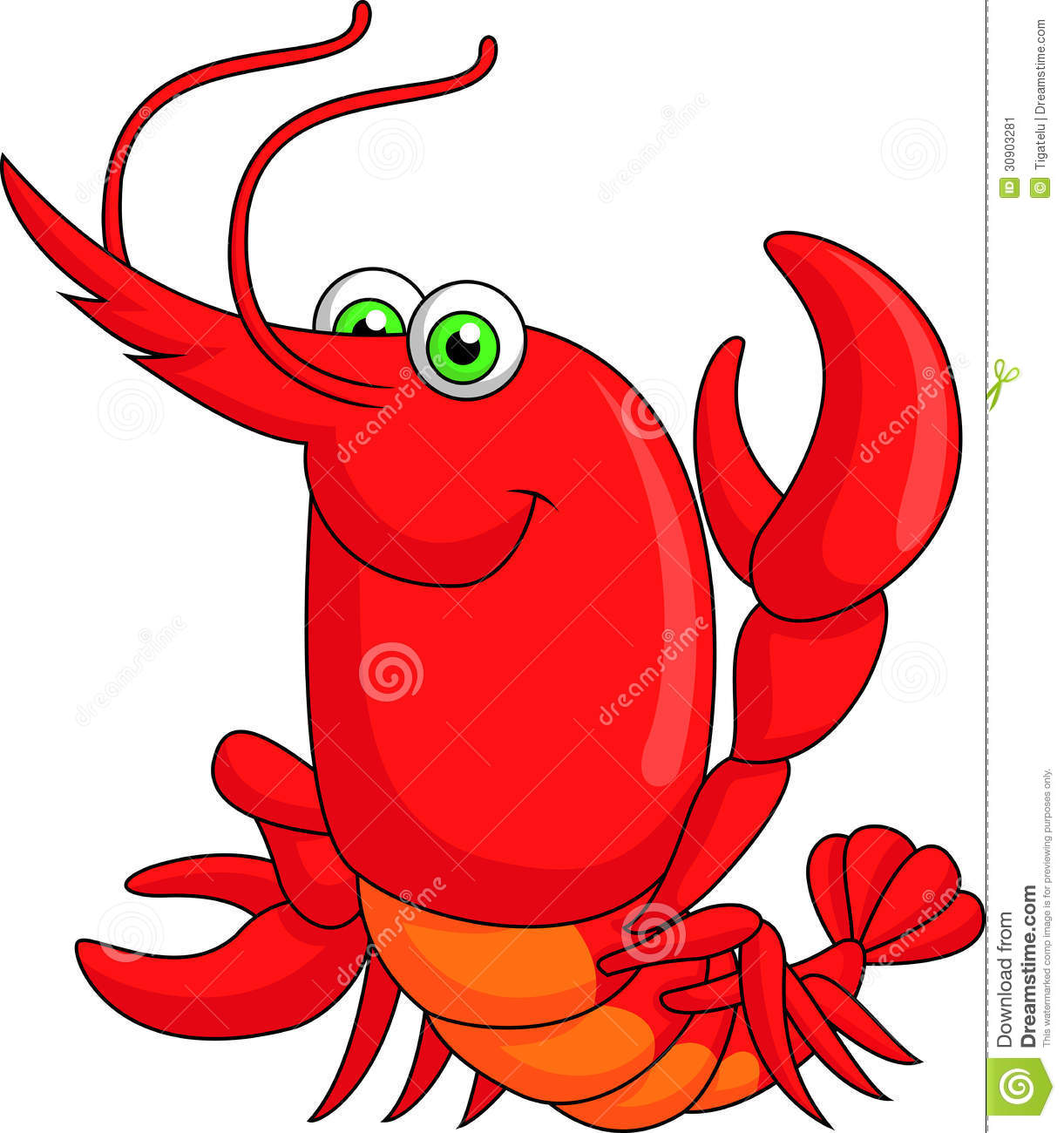 funny lobster clipart - photo #8