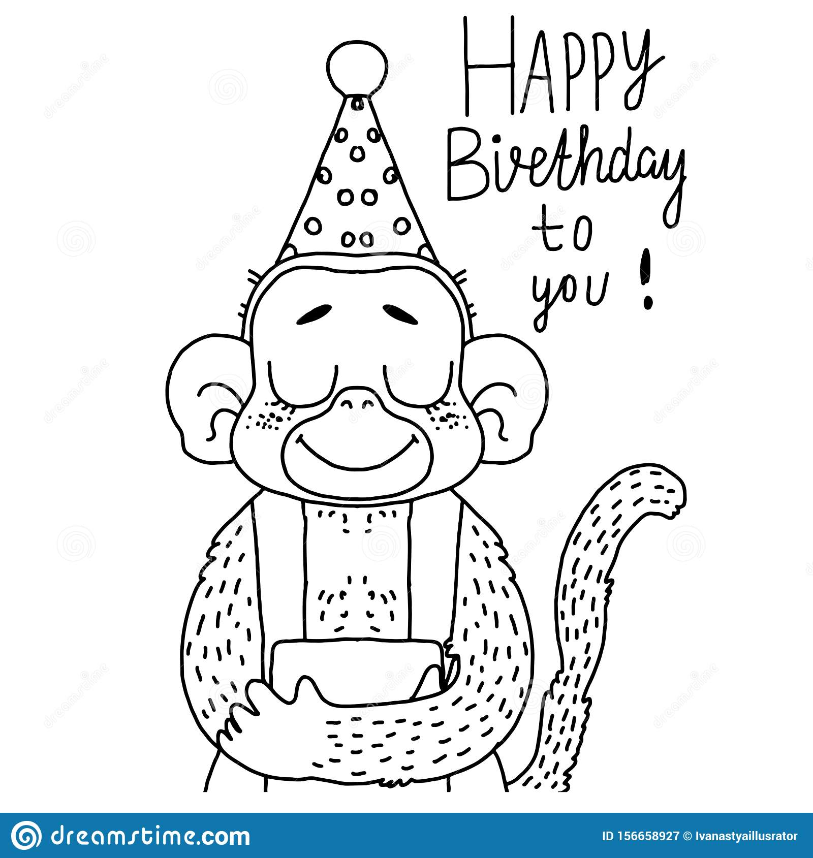 Monkey Coloring Pages | 360ColoringPages | 1689x1600