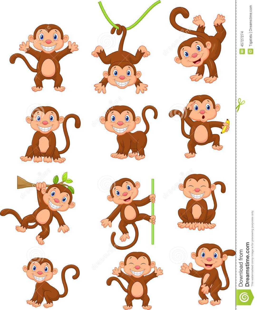Stock Images, Royalty-Free Images & Vectors | Shutterstock  |Scared Monkey Animation