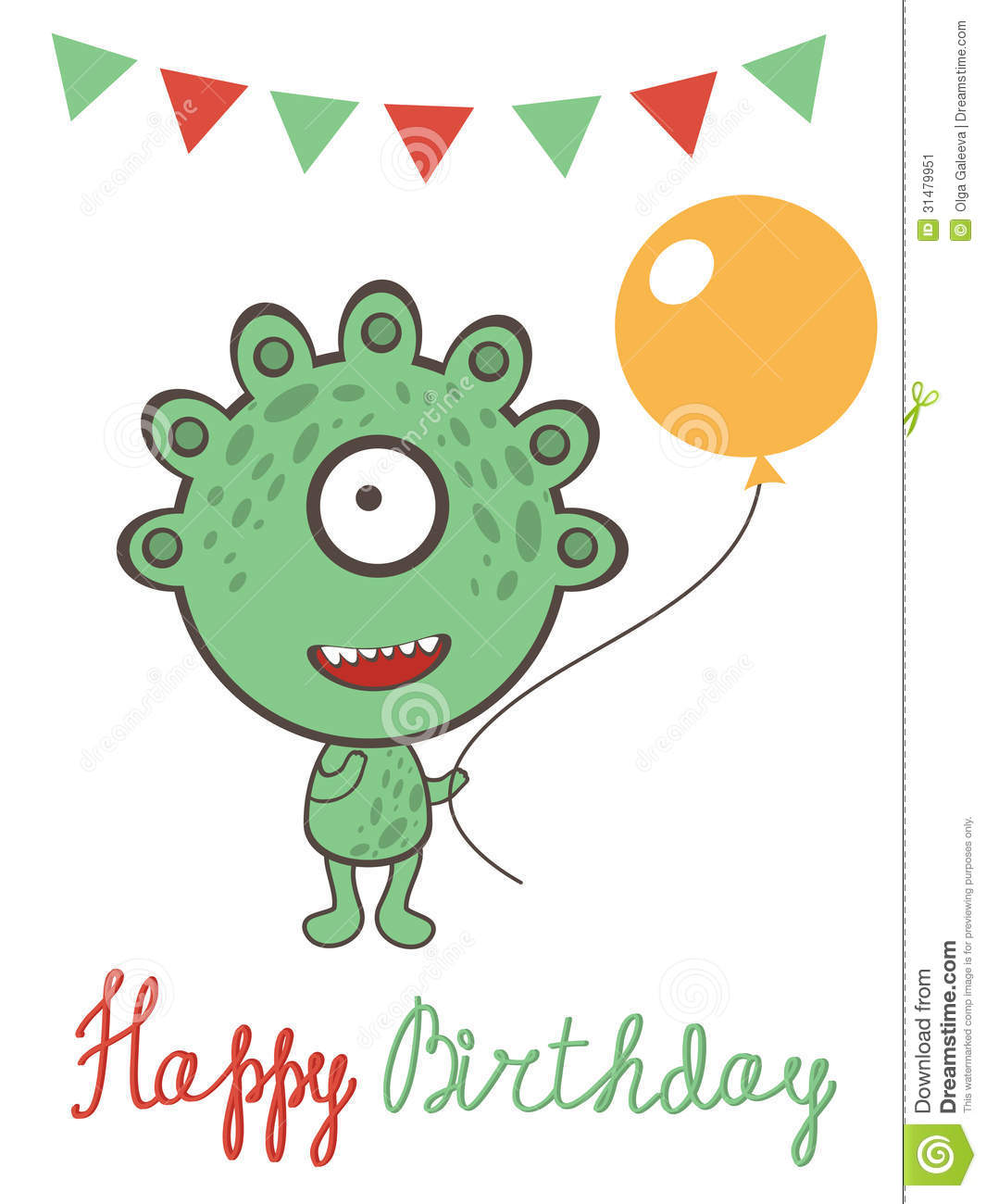 Birthday Card - Have a monster birthday - RHMONSC – Day One ...