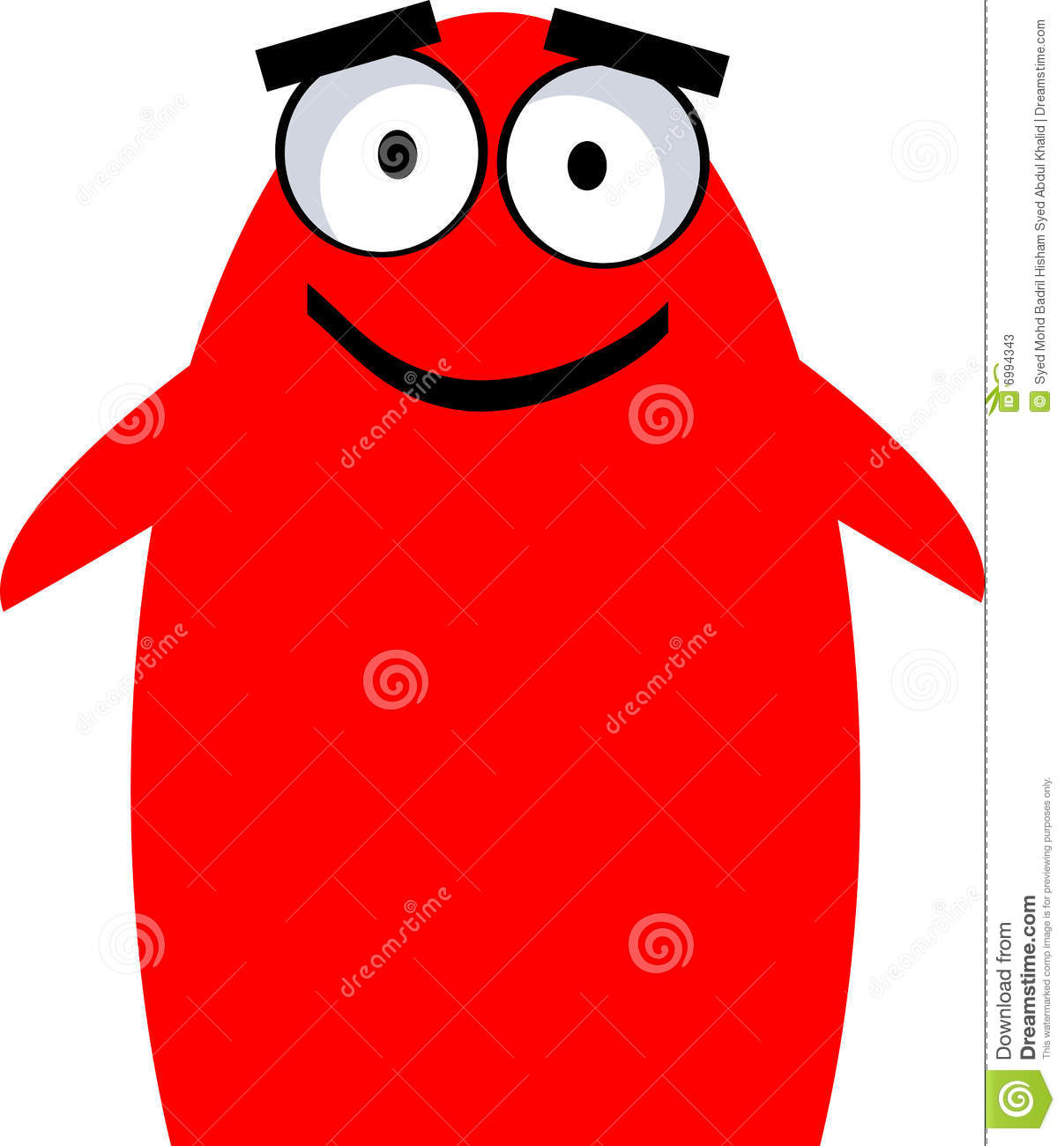 Cute Monster - Vector Clipart Stock Photos - Image: 6994343
