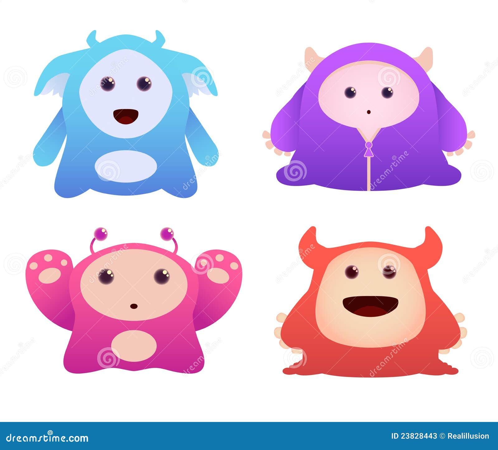 Cute Monsters Stock Ph...