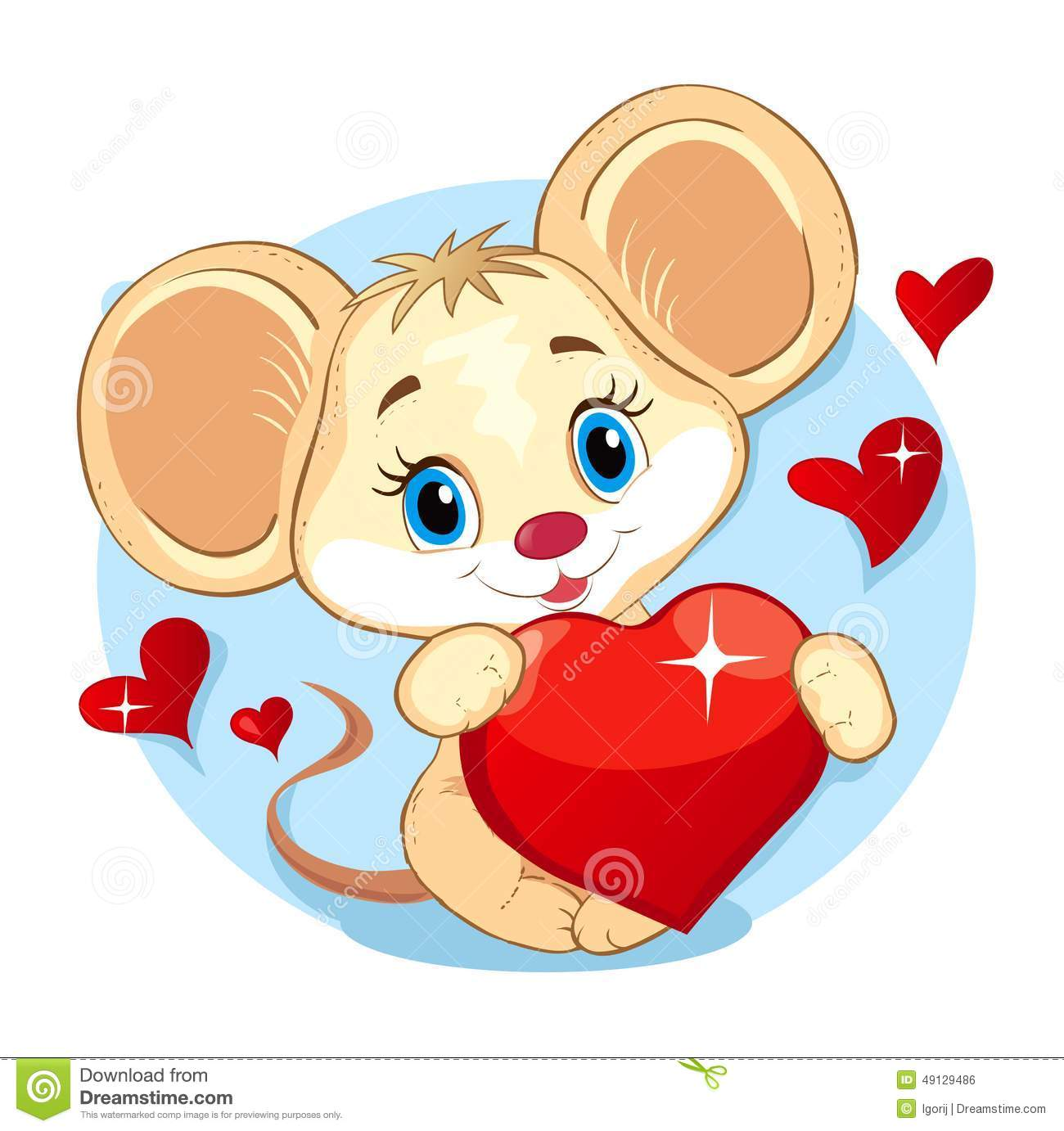 Cute Mouse Stock Vector - Image: 49129486