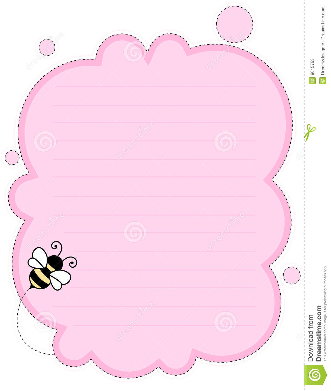 More similar stock images of ` Cute note paper background `