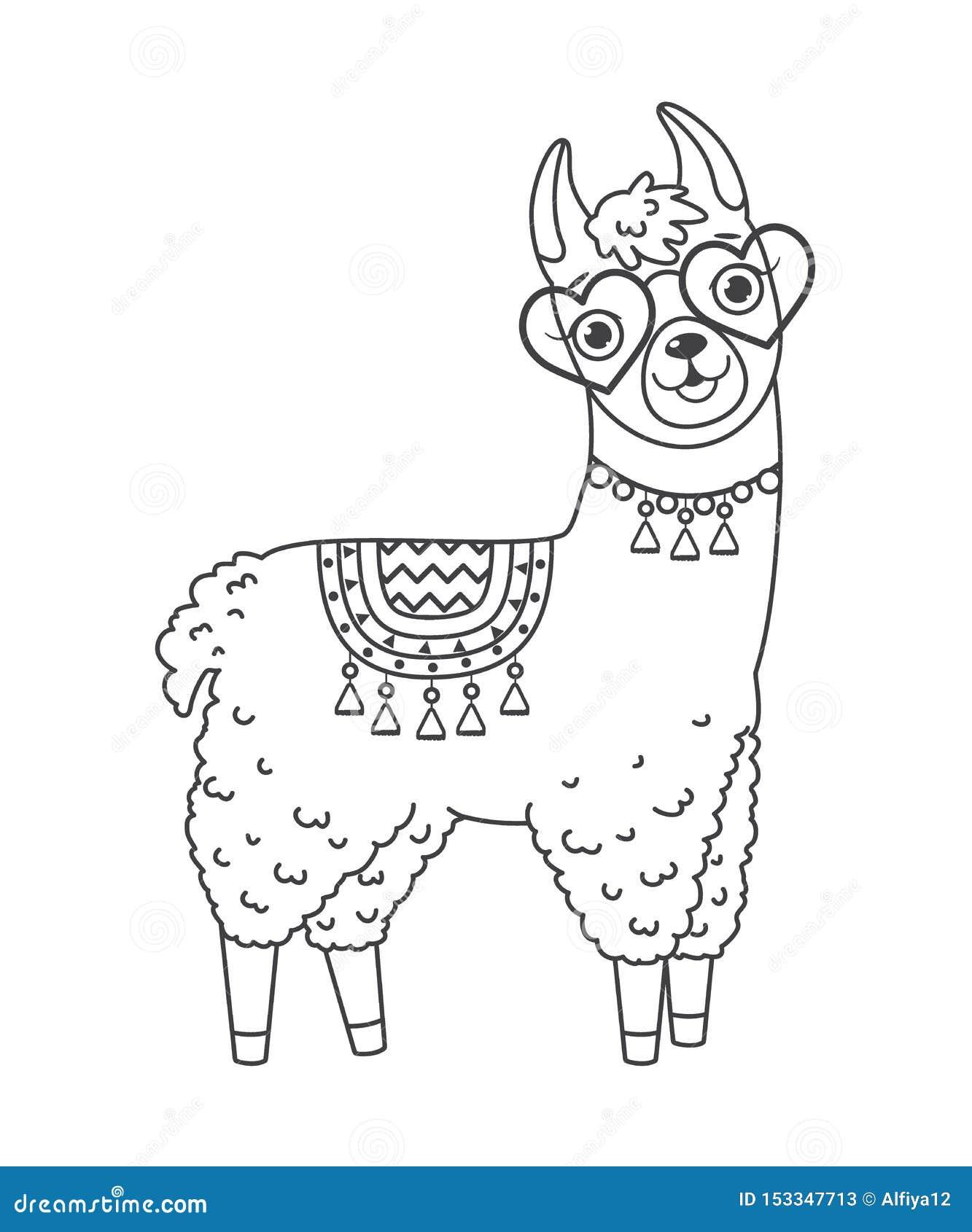 No prob-llama printable/coloring page | Malvorlagen für jungen ... | 1689x1333