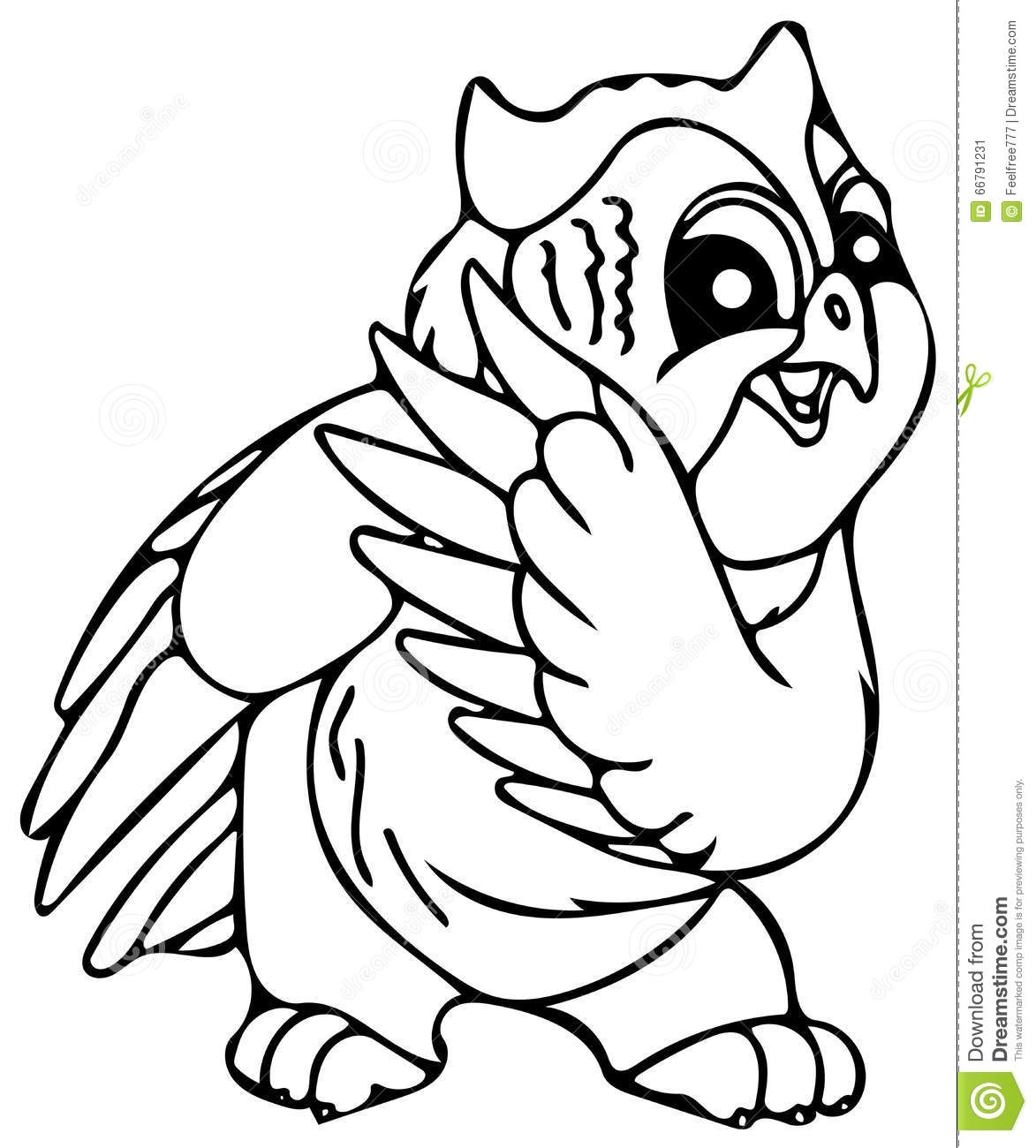 Cute Owl Coloring Pages Stock Illustration Image 66791231