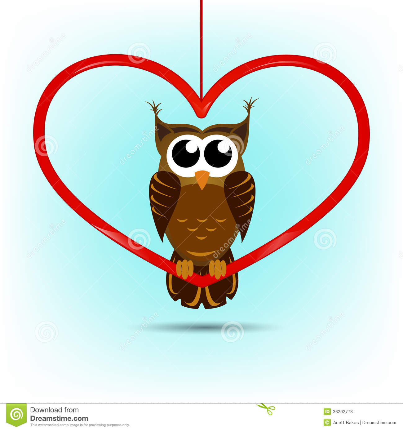 Cute Owl Valentines Day Card Images Image 36292774 – Owl Valentine Card