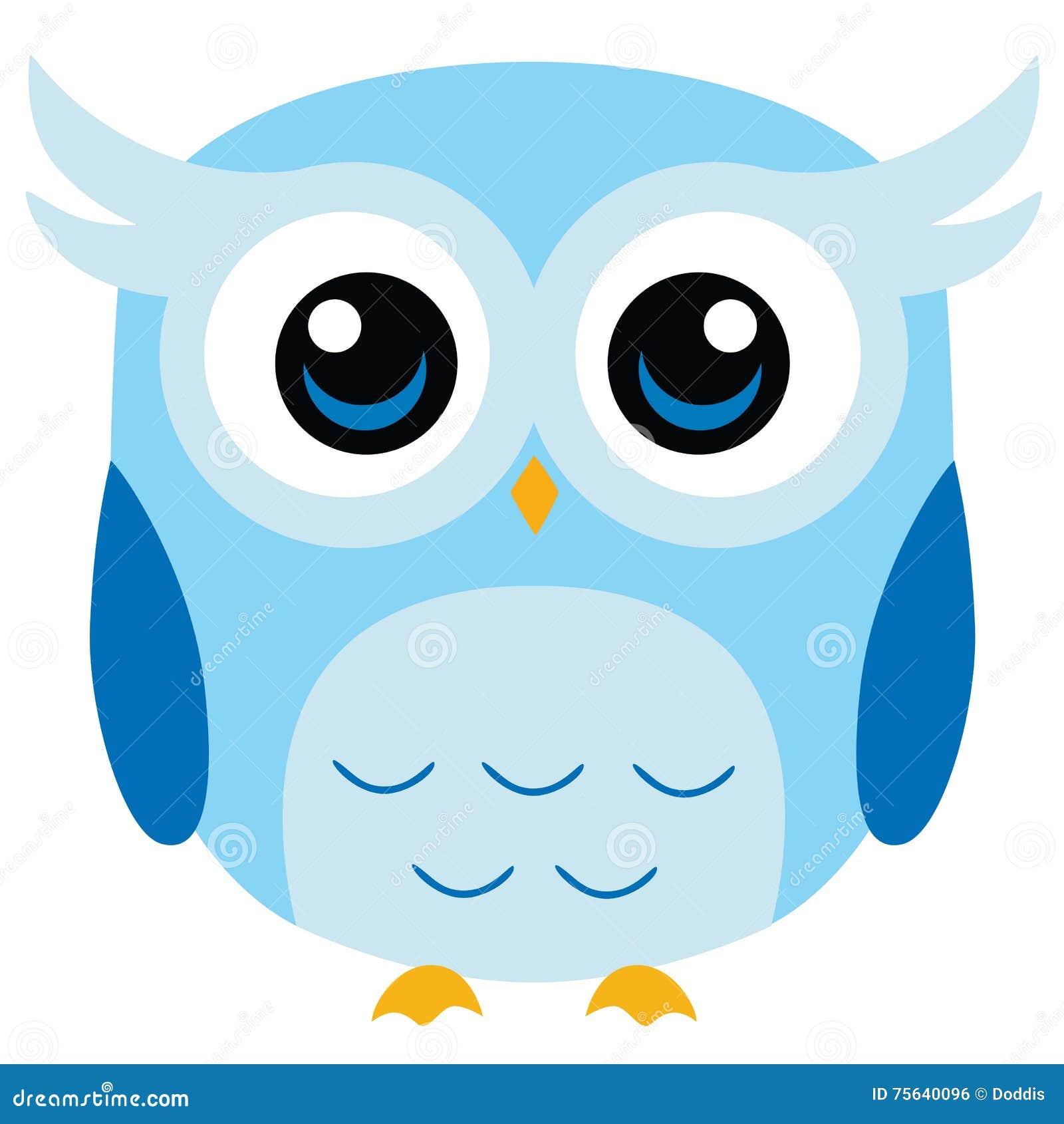 cute owl vector cartoon stock vector illustration of cute owl clip art images cute owl clip art black and white