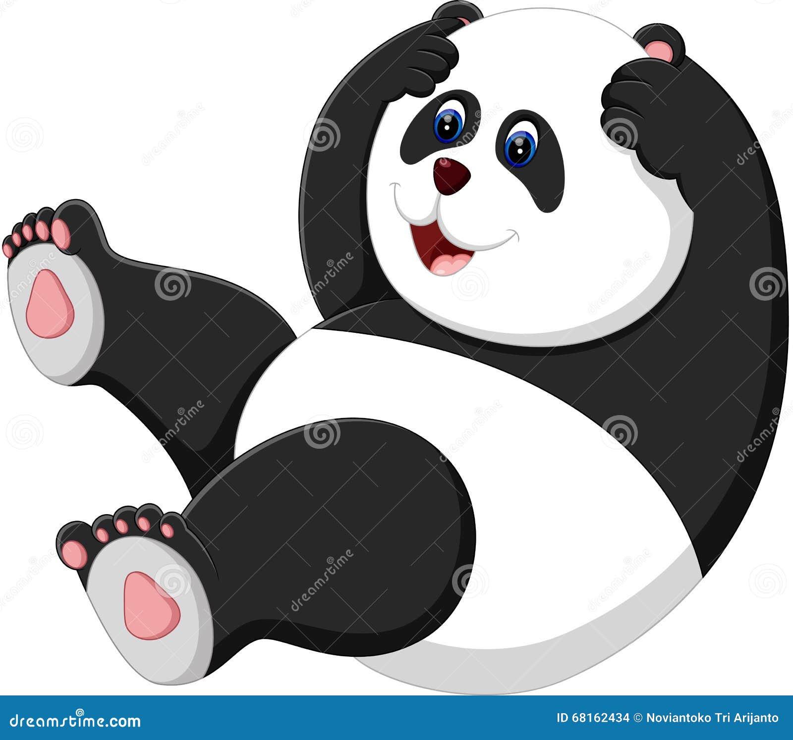 Cute Panda Stock Vector Illustration Of Bear Drawing 68162434