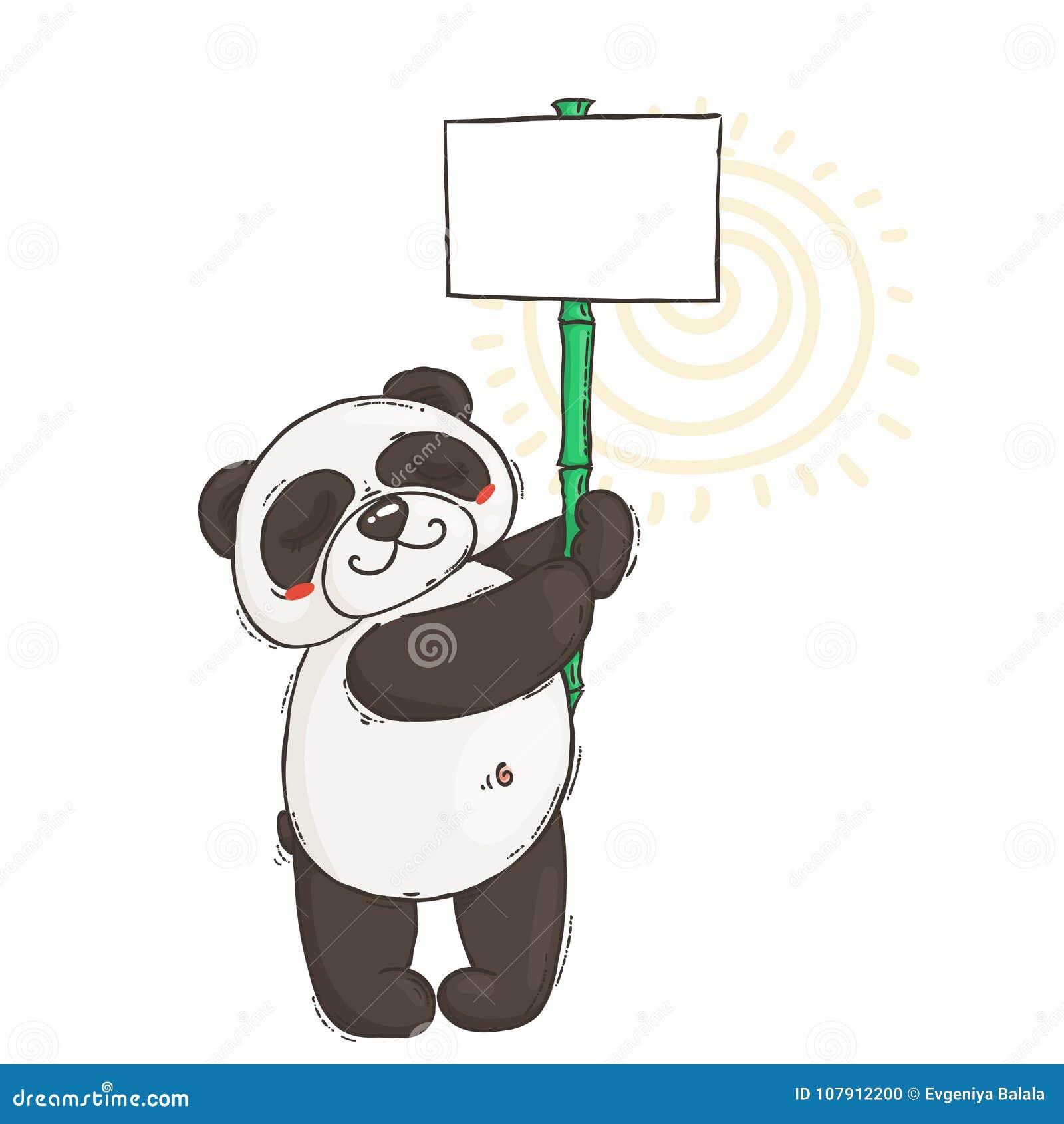 Bamboo stick cartoon stock illustrations