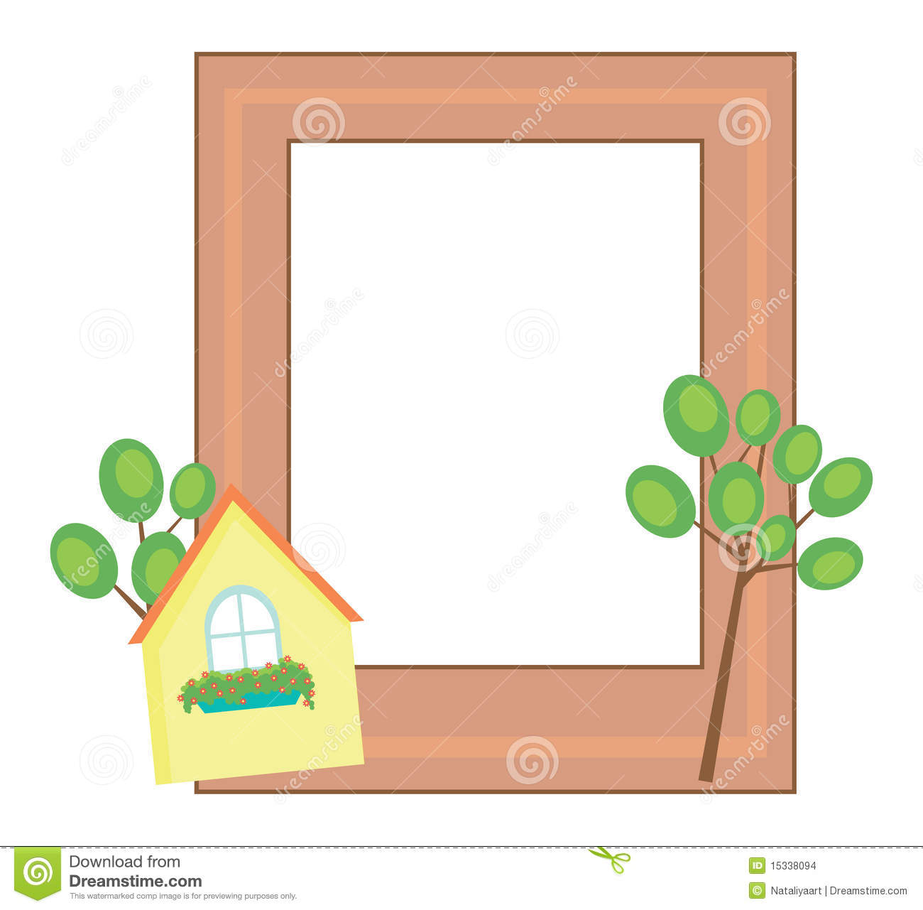Cute Photo Frame Stock Images Image 15338094
