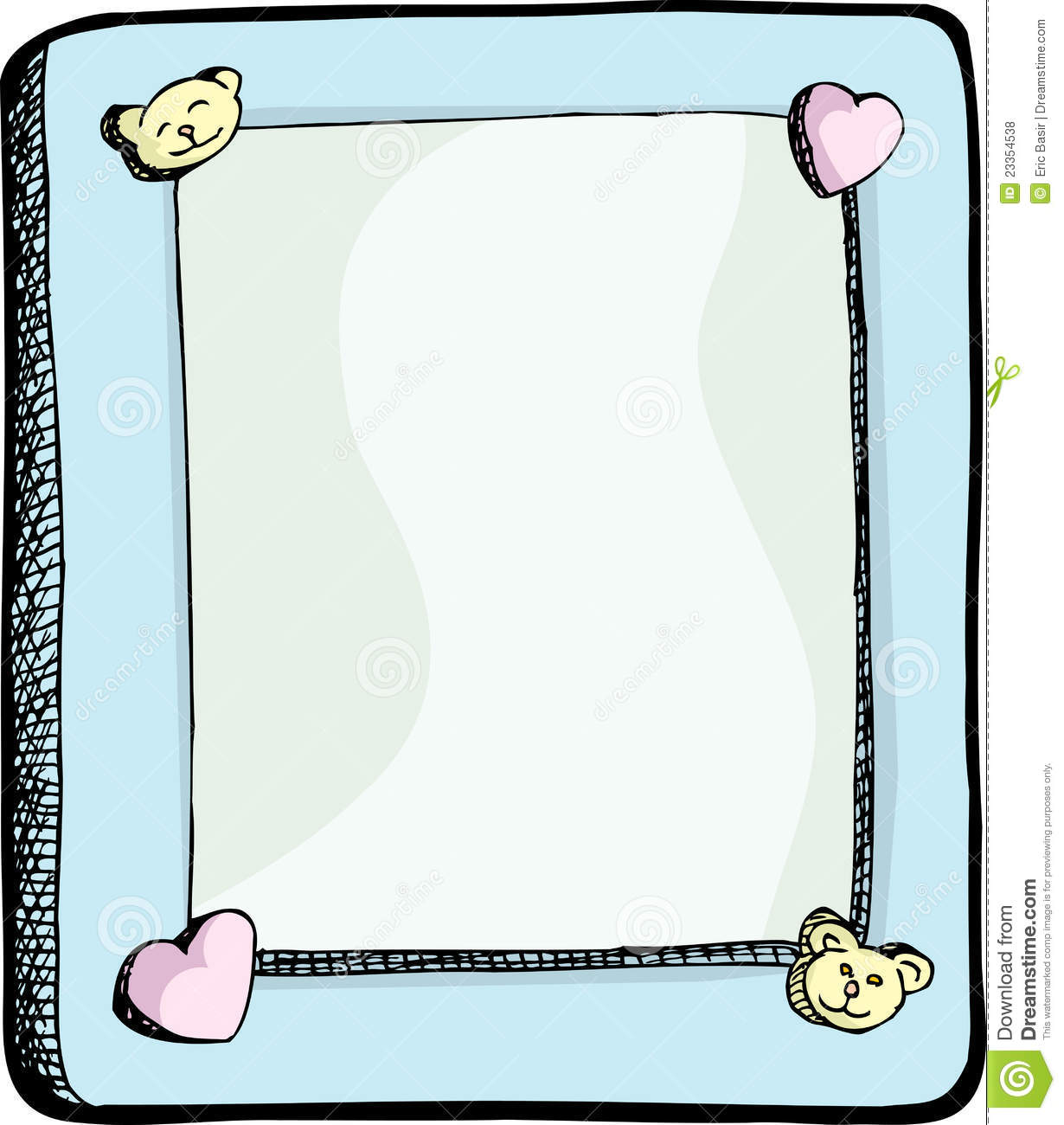 Cute Picture Frame Royalty Free Stock Photos - Image: 23354538