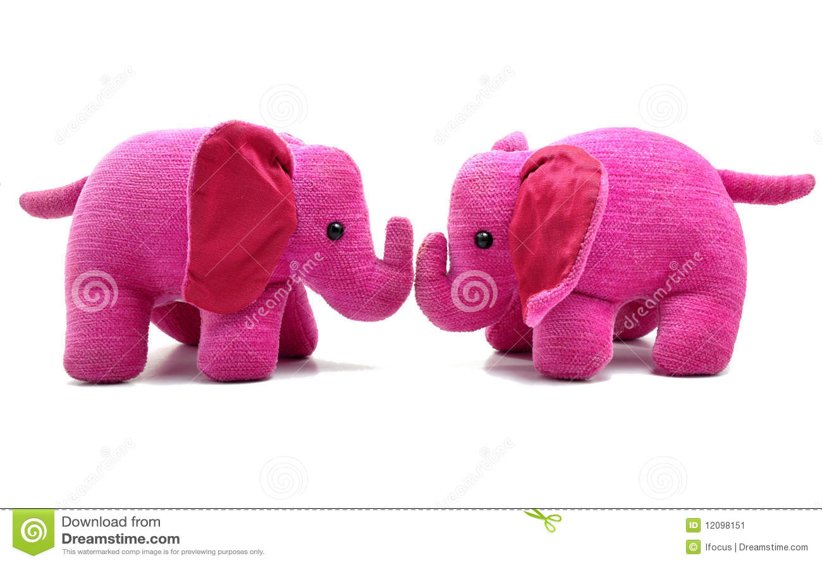 Cute pink elephant - photo#22