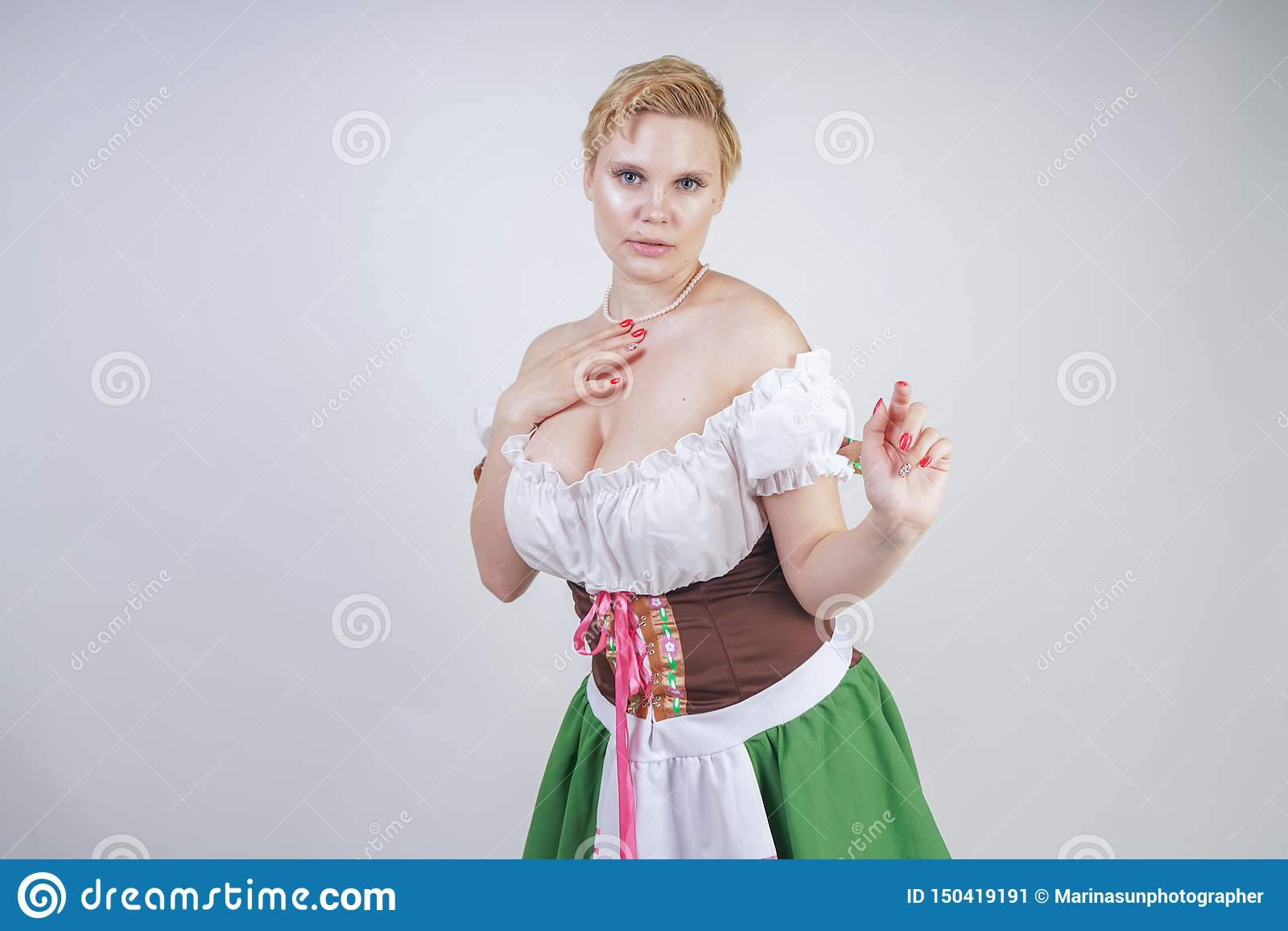 short girl with big breasts