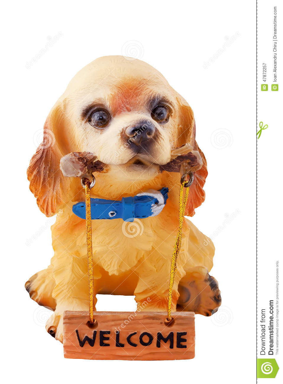 https://thumbs.dreamstime.com/z/cute-puppy-who-will-tell-you-welcome-dog-made-ceramic-tells-47872257.jpg