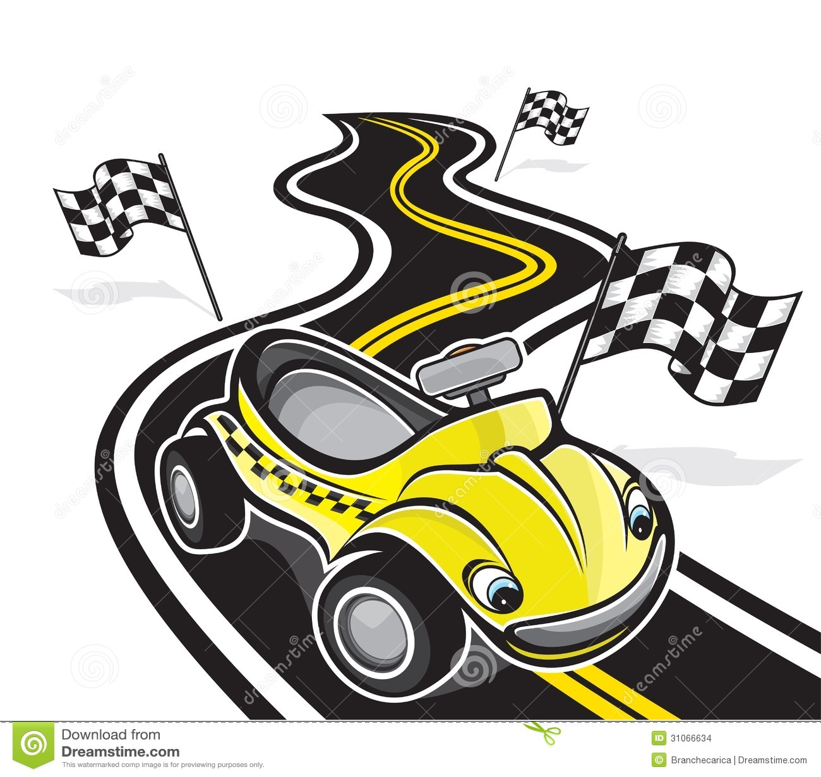 Cute Race Car Stock Images - Image: 31066634