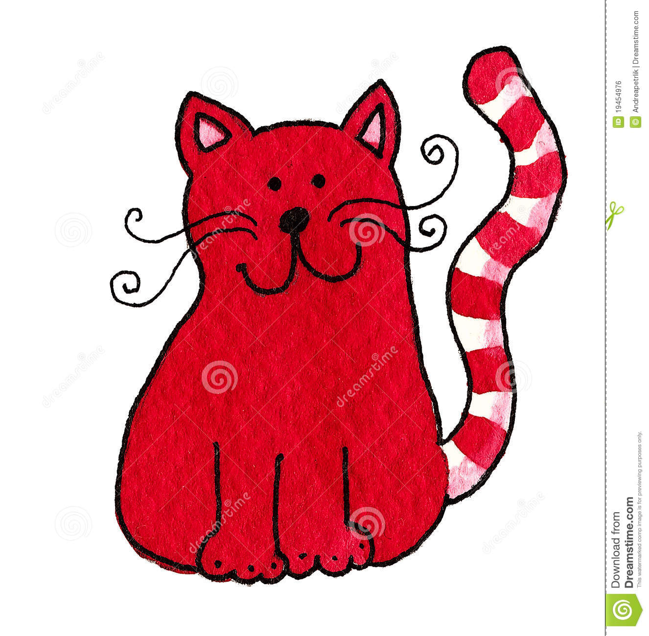 cute red cat royalty free stock image image 19454976 clipart animation clipart animation for yoga pose